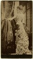 Sarah Bernhardt in 'Frou-Frou', by Napoleon Sarony - NPG x1191