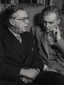 Sir Julian Huxley; Aldous Huxley, by Wolfgang Suschitzky - NPG x12105