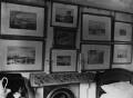Collection of watercolours by J.M.W. Turner in John Ruskin's bedroom, by John McClelland - NPG x12191