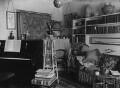 View of interior at John Ruskin's home, by John McClelland - NPG x12194