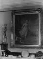 View of James Northcote's painting of John Ruskin in John Ruskin's home, by John McClelland - NPG x12197