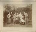 Sir George Biddell Airy; Wilfrid Airy; Hubert Airy and seven family members, by Morgan & Kidd - NPG x1224