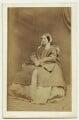 Emily Sarah (née Sellwood), Lady Tennyson, by William Jeffrey - NPG x12995