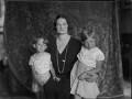 Astrid, Queen of the Belgians with her children, by Vandyk - NPG x130231
