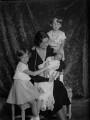 Astrid, Queen of the Belgians with her children, by Vandyk - NPG x130235