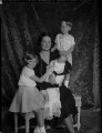 Astrid, Queen of the Belgians with her children, by Vandyk - NPG x130237