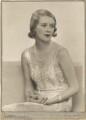 Sylvia (née Hawkes), Lady Ashley, by Dorothy Wilding - NPG x13690