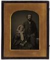 Emma (née Sidney), Lady Edwardes; Sir Herbert Edwardes, by Ross & Thomson - NPG x1370