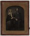 Emma (née Sidney), Lady Edwardes; Sir Herbert Edwardes, by Ross & Thomson - NPG x1371
