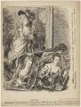 Au Revoir (Georgiana (Spencer), Duchess of Devonshire, Anne (Parsons), Viscountess Maynard ('Nancy Parsons'), Agneta Yorke (née Johnson)), by Sir (John) Bernard Partridge, after  Thomas Gainsborough, and after  Sir Joshua Reynolds - NPG D9526