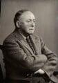 Sir Arnold Bax, by Elliott & Fry - NPG x14348