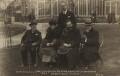 Sir Alexander Campbell Mackenzie; Dame Ethel Mary Smyth; Dan Godfrey; Sir Henry Joseph Wood; Sir Edward German, by Bailey's Studio - NPG x14399