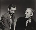 Benjamin Britten; W.H. Auden, by Unknown photographer - NPG x15197