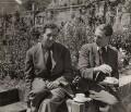 Benjamin Britten; Eric John Crozier, by Maria Austria (Marie Karoline Oestreicher) - NPG x15207