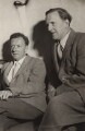Benjamin Britten; Peter Pears, by Felicitas - NPG x15225