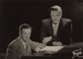 Benjamin Britten; Peter Pears, by Fayer - NPG x15226