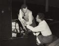 Benjamin Britten; Julius Katchen, by Fox Photos Ltd - NPG x15230