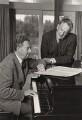 Benjamin Britten; Peter Pears, by Clive Strutt - NPG x15256