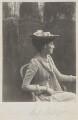 Emmeline Mary Elizabeth ('Nina') Cust (née Welby-Gregory), by Cyril Flower, 1st Baron Battersea - NPG Ax15688