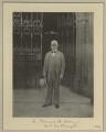 Sir Francis Henry Evans, 1st Bt, by Benjamin Stone - NPG x15805