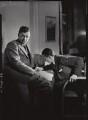 Benjamin Britten; Sir Lennox Randal Francis Berkeley, by Howard Coster - NPG x1634