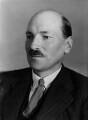 Clement Attlee, by Bassano Ltd - NPG x16589