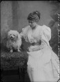 Lady Rosalind Lucy Stafford Northcote, by Alexander Bassano - NPG x1668