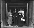 Sophia Nicholaievna, Countess de Torby; Mary Howe (née Curzon), Countess Howe; Michael Alexandrovich, Grand Duke of Russia, by Mrs Albert Broom (Christina Livingston) - NPG x168
