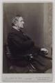 Sir William Vernon Harcourt, by Elliott & Fry - NPG x17018