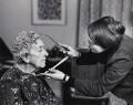 Agatha Christie; Lyn Kramer, by John Garner - NPG x17073