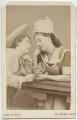 Miss Hamilton; Miss Hamilton, by Adolphe Paul Auguste Beau - NPG x17332