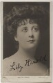 Lily Harold (née Lillie Nesta Morris Watkins), by The Hana Studios Ltd, published by  Rotary Photographic Co Ltd - NPG x17414