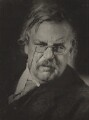 G.K. Chesterton, by Howard Coster - NPG x1789