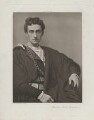 Sir Johnston Forbes-Robertson as Hamlet in 'Hamlet', by Lizzie Caswall Smith, published by  Virtue & Co - NPG x17966