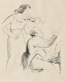 Isolde Menges; Harold Samuel, by Edmond Xavier Kapp - NPG 6528