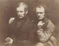 James Duncan; Thomas Duncan, by David Octavius Hill, and  Robert Adamson - NPG x18779