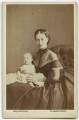 Prince Albert Victor, Duke of Clarence and Avondale; Queen Alexandra, by Lock & Whitfield - NPG x18898