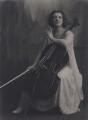 Guilhermina Suggia, by Malcolm Arbuthnot - NPG x19036