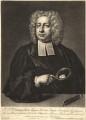 John Theophilus Desaguliers, by Peter Pelham, after  Hans Hysing - NPG D10562