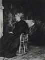 Jane Morris (née Burden), by Sir Emery Walker - NPG x19602