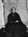 Jane Morris (née Burden), by Sir Emery Walker - NPG x19605