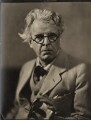 W.B. Yeats, by Howard Coster - NPG x1963