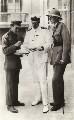 T.E. Lawrence; David George Hogarth; Alan Geoffrey Charles Dawnay, by Harry Alonzo Chase - NPG x19908