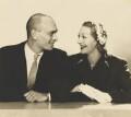 Yul Brynner; Gertrude Lawrence, by Dorothy Wilding - NPG x19921