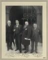 Mr Minstrell; Theodore Alexander Demetrius Bello; James Frankland Moir Bussy; Alfred Janes, by Sir (John) Benjamin Stone - NPG x19940