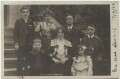 'Dan Leno & Family' (including Dan Leno and Sarah Lydia Galvin (née Reynolds)), by King, published by  Rotary Photographic Co Ltd - NPG x20007