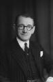 Sir Lewis Jones, by Walter Stoneman - NPG x20567