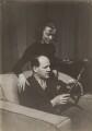 Leslie Burrowes; Leon Jean Goossens, by Elsie Gordon - NPG x20631
