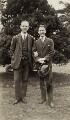 Cecil Armstrong Gibbs; Sir Arthur Edward Drummond Bliss, by Elsie Gordon - NPG x20658