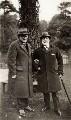 Sir Alexander Campbell Mackenzie; Sir Hugh Percy Allen, by Elsie Gordon - NPG x20659